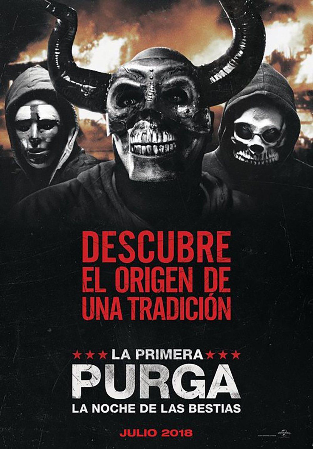 'La primera purga: La noche de las bestias'