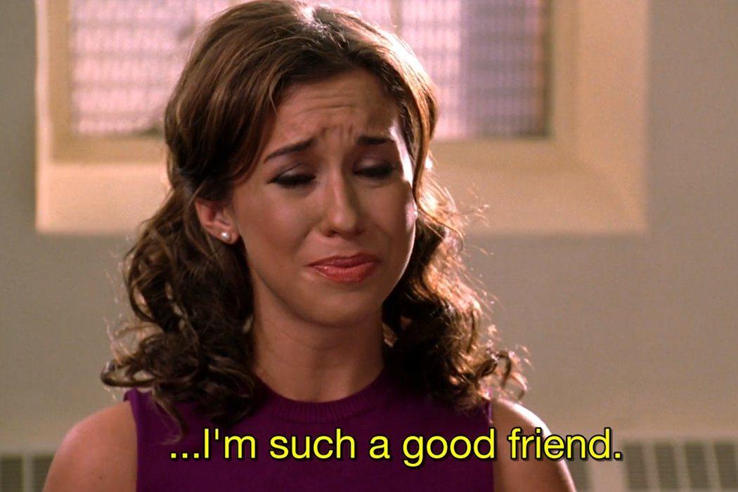 Que en un buen grupo de amigas siempre se critica a la que falta