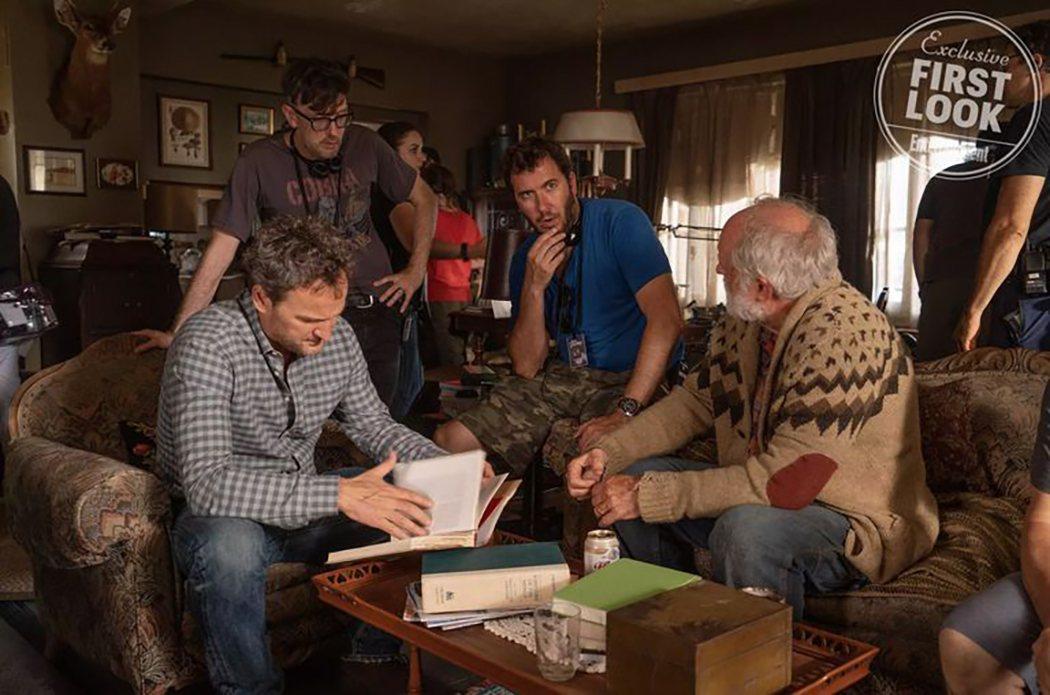 Imagen desde el set de rodaje