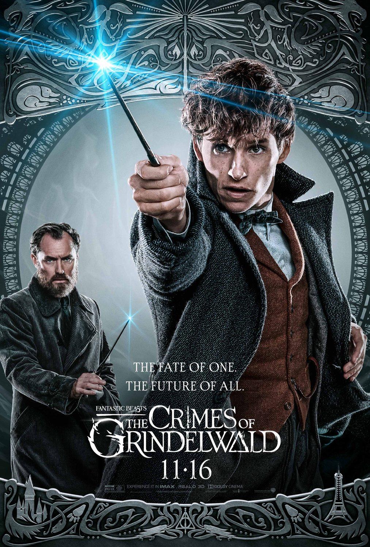 Newt (Eddie Redmayne) y Dumbledore (Jude Law)