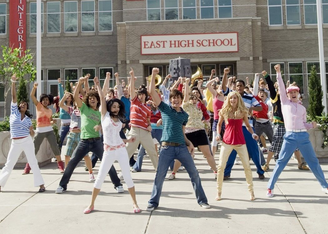 El East High School de la película es un instituto real de Utah