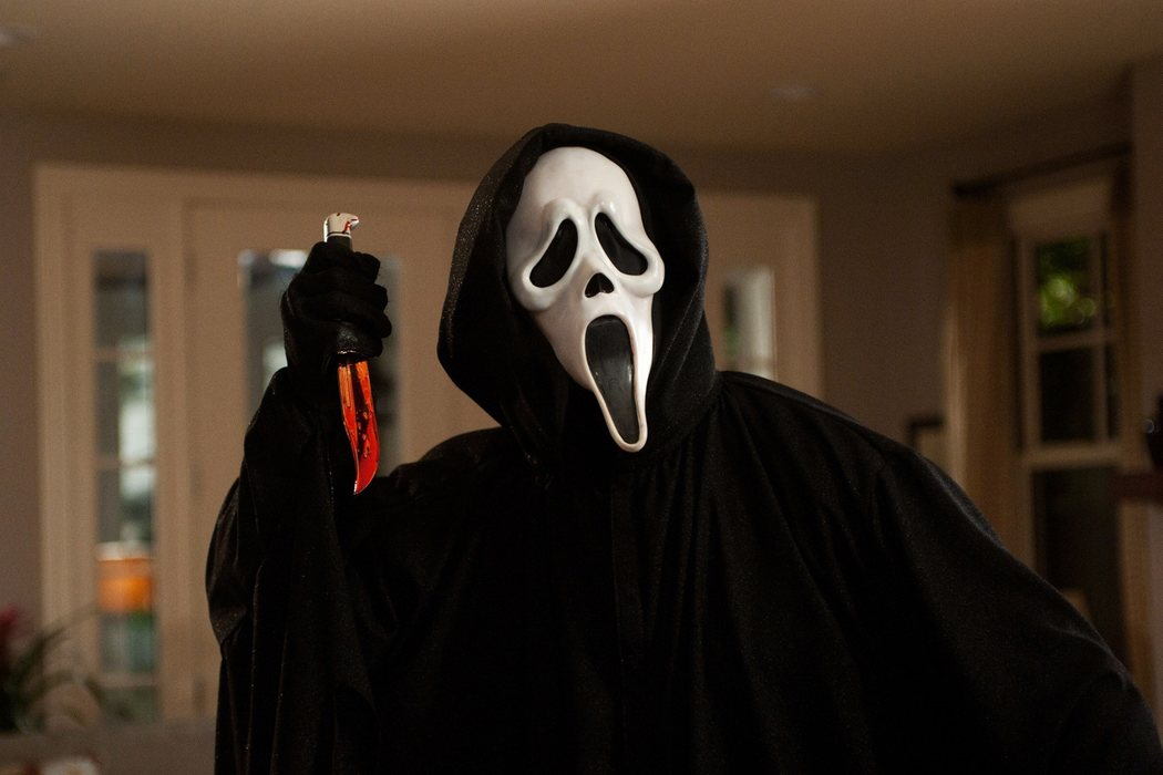 El cuchillo de Ghostface