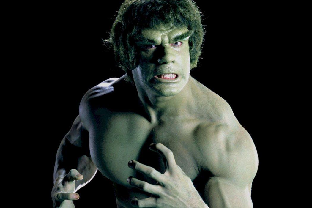 Lou Ferrigno en la serie 'El increíble Hulk'