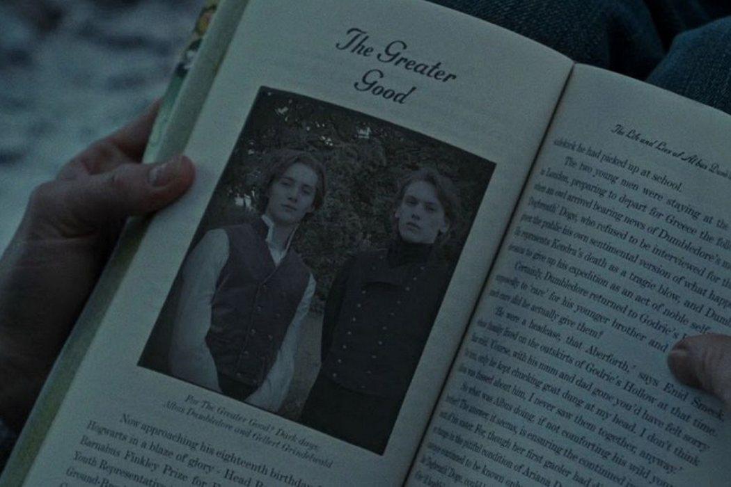 Su amistad con Dumbledore