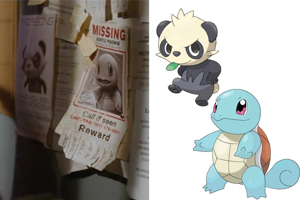 Squirtle y Pancham
