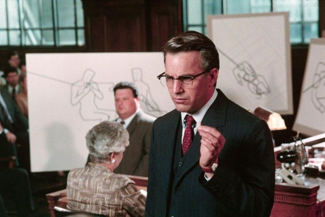 Jim Garrison en 'JFK: Caso abierto'