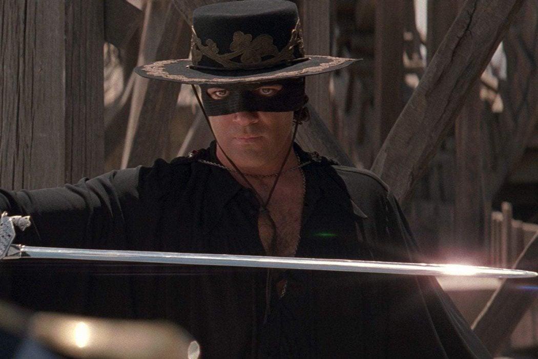 El reflejo del sol en la espada del Zorro