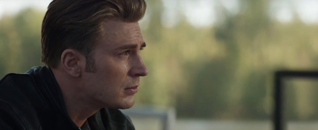 Why, or who, Captain America is crying?