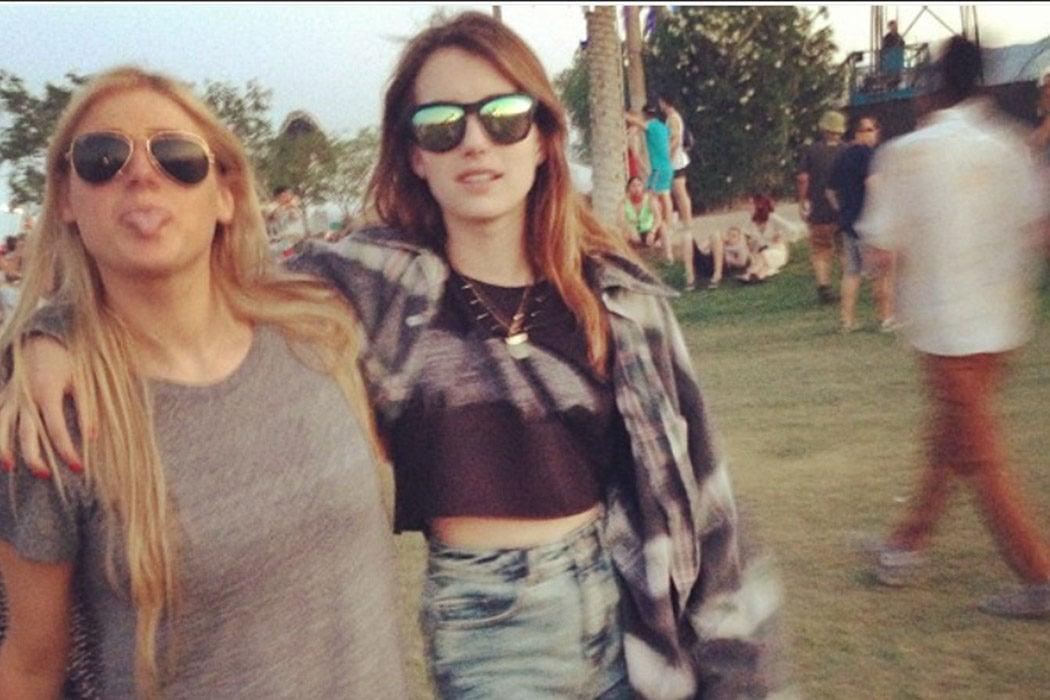 Postureo en Coachella