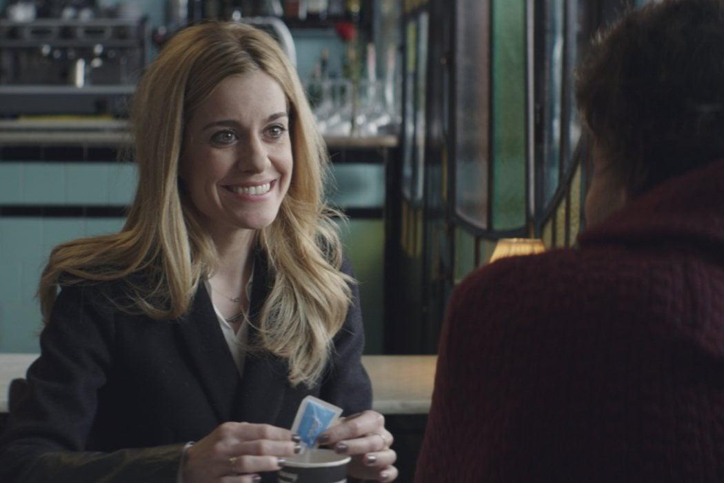 Alicia en 'Café para llevar' (2014)