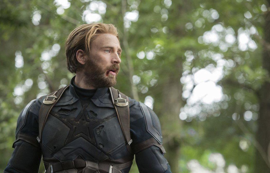 Chris Evans en 'Capitán América'