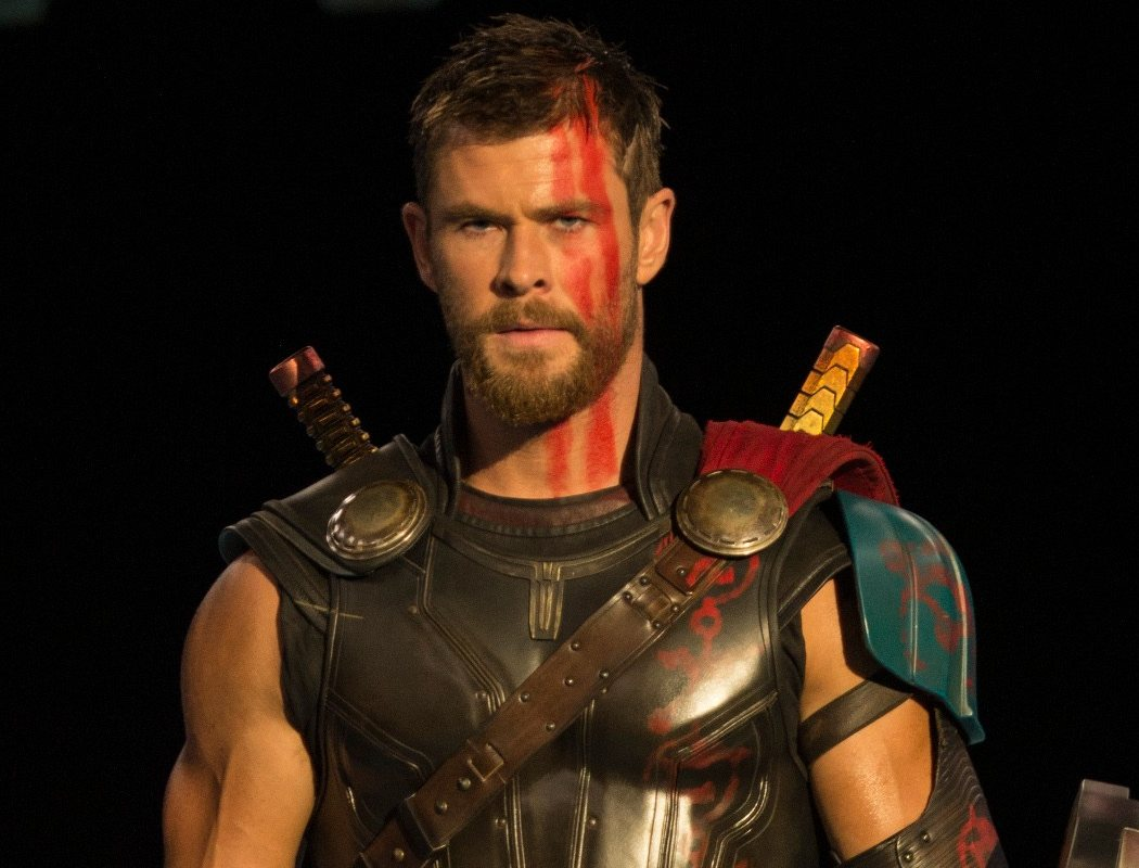 Chris Hemsworth como 'Thor'
