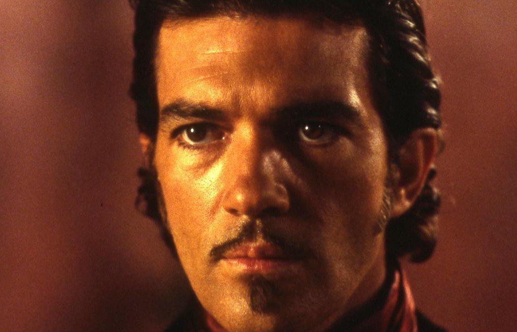 Antonio Banderas en 'La máscara del zorro'