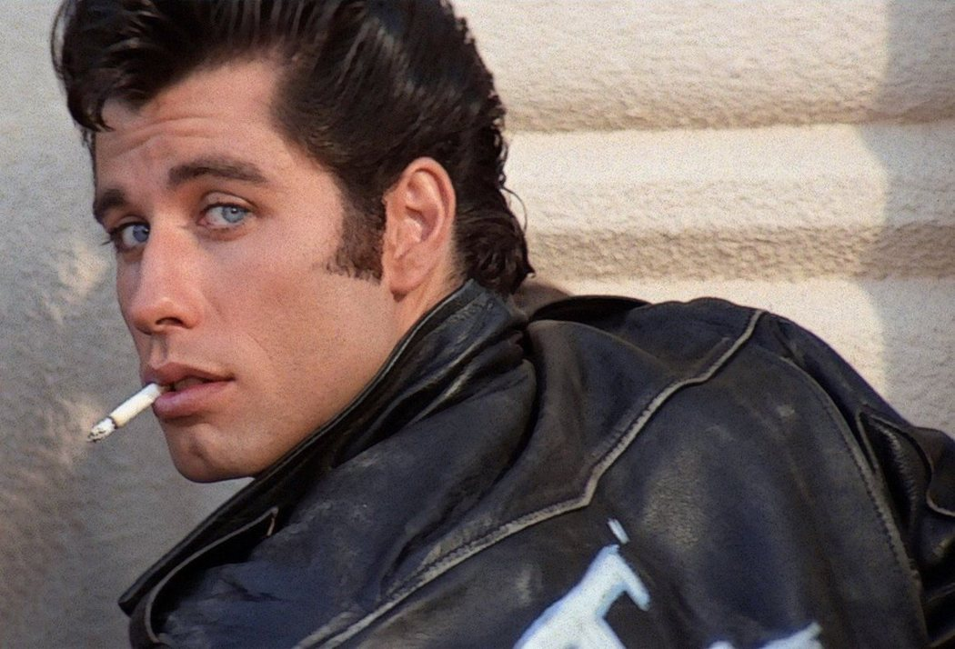 John Travolta en 'Grease'