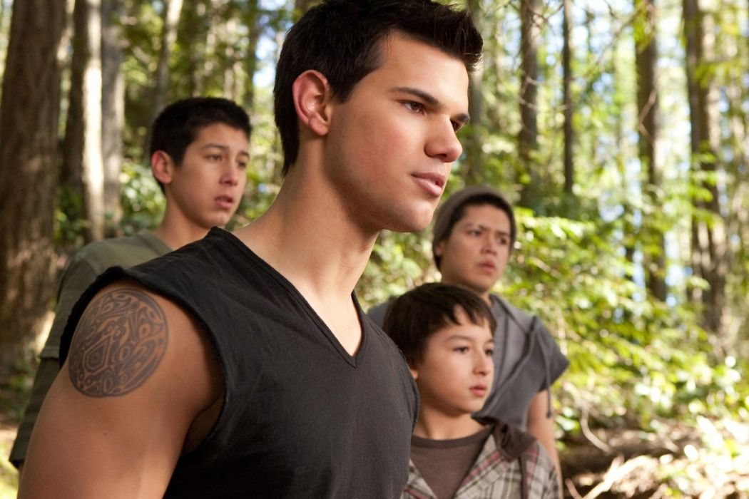 Taylor Lautner como Jacob Black