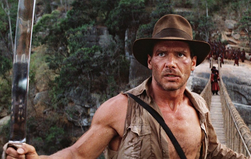 Harrison Ford como 'Indiana Jones'
