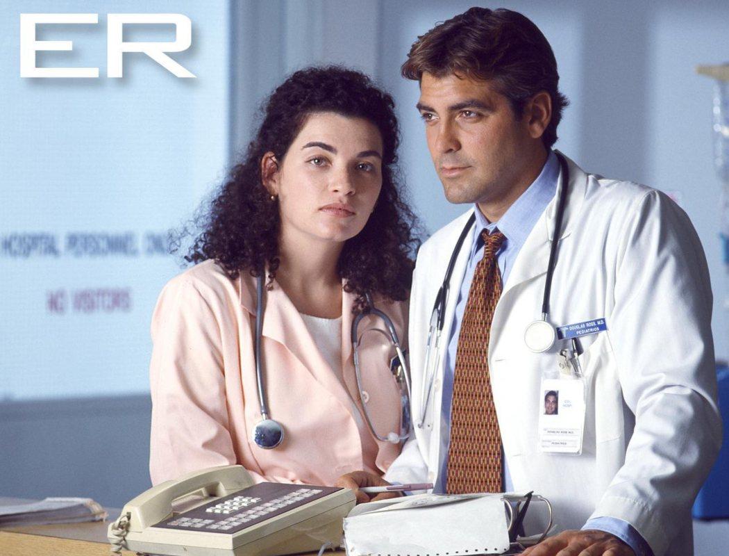 George Clooney en 'Urgencias'