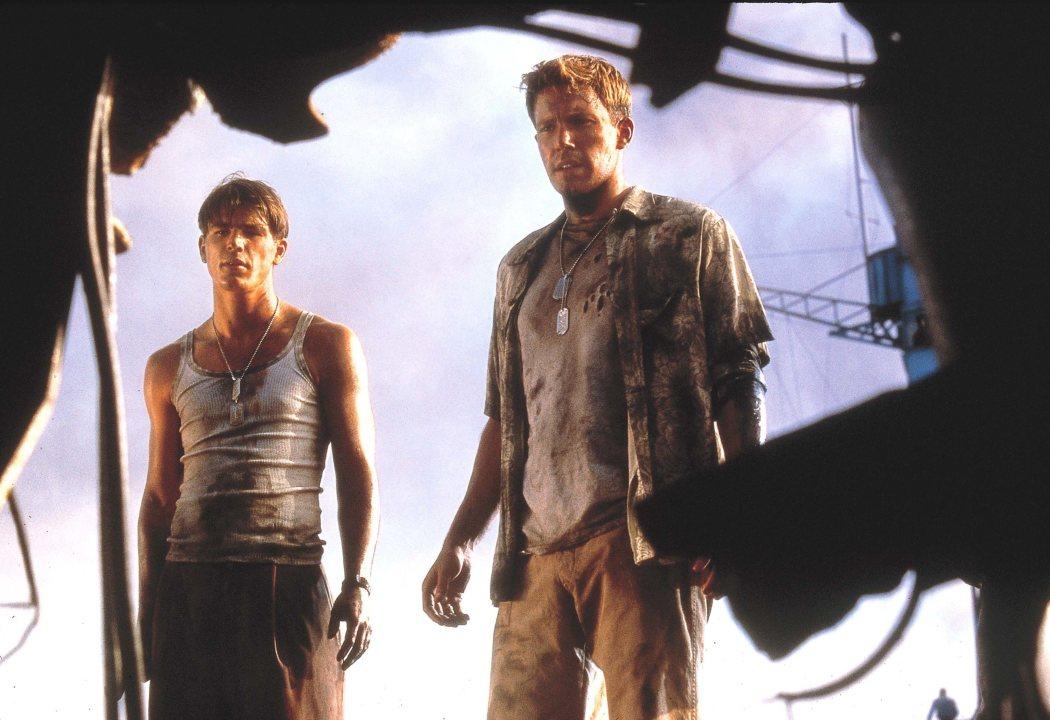 Ben Affleck y Josh Harnett en 'Pearl Harbour'