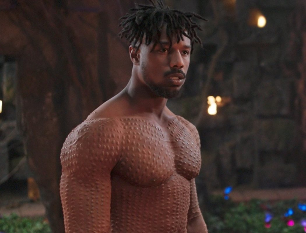 Michael B. Jordan en 'Black Panther'