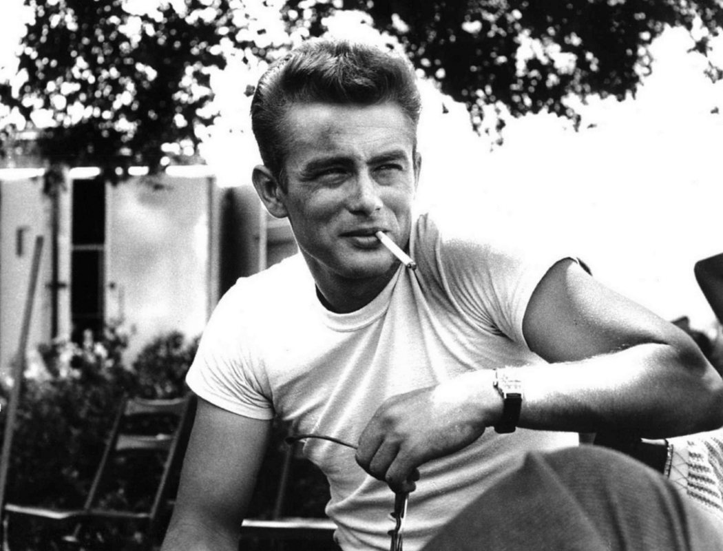 James Dean en 'Rebelde sin causa'