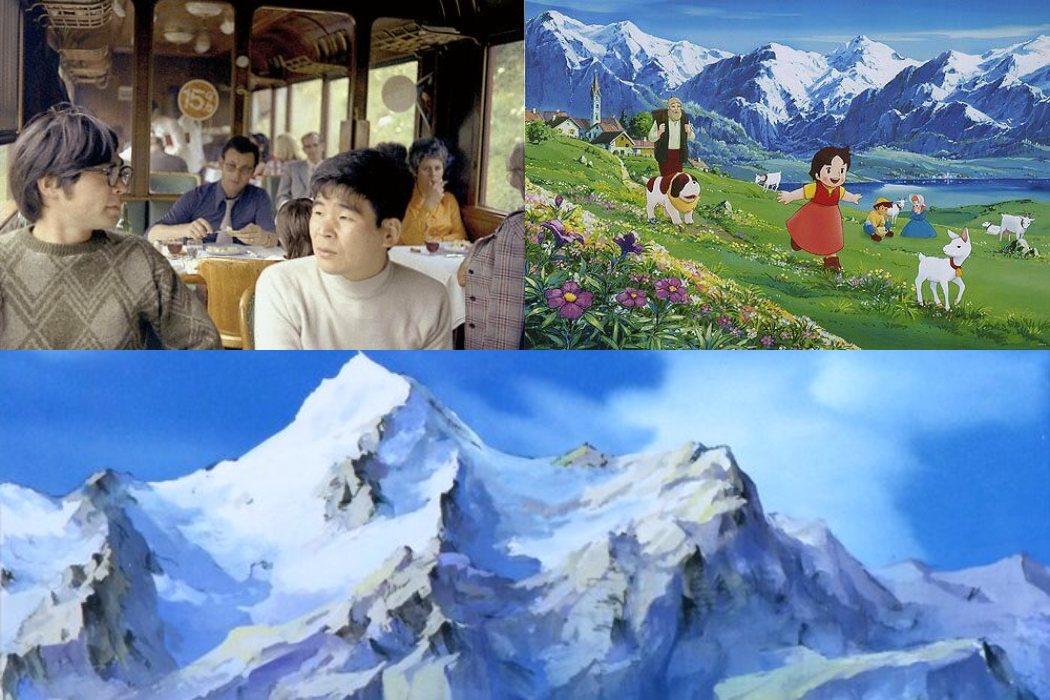 Takahata y Miyazaki viajaron a Suiza y a Alemania para documentarse