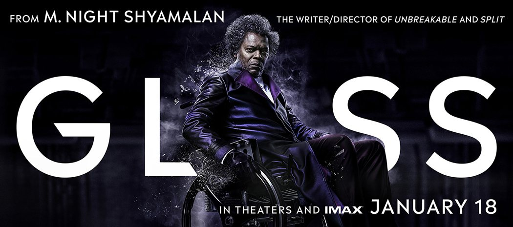Cartel horizontal Mr. Glass