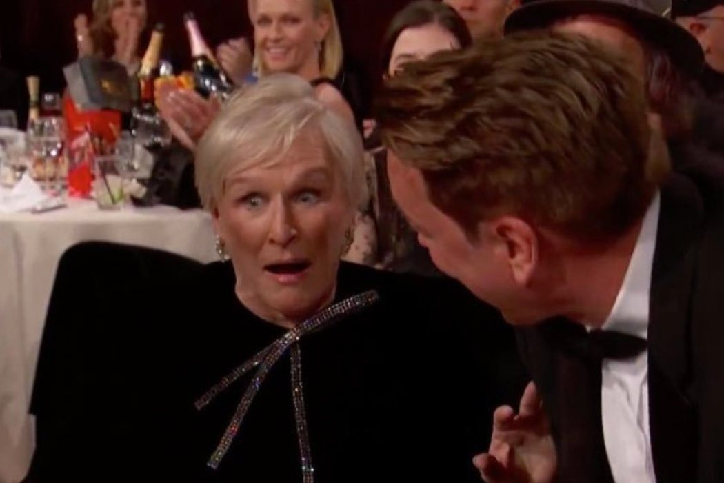El shock de Glenn Close