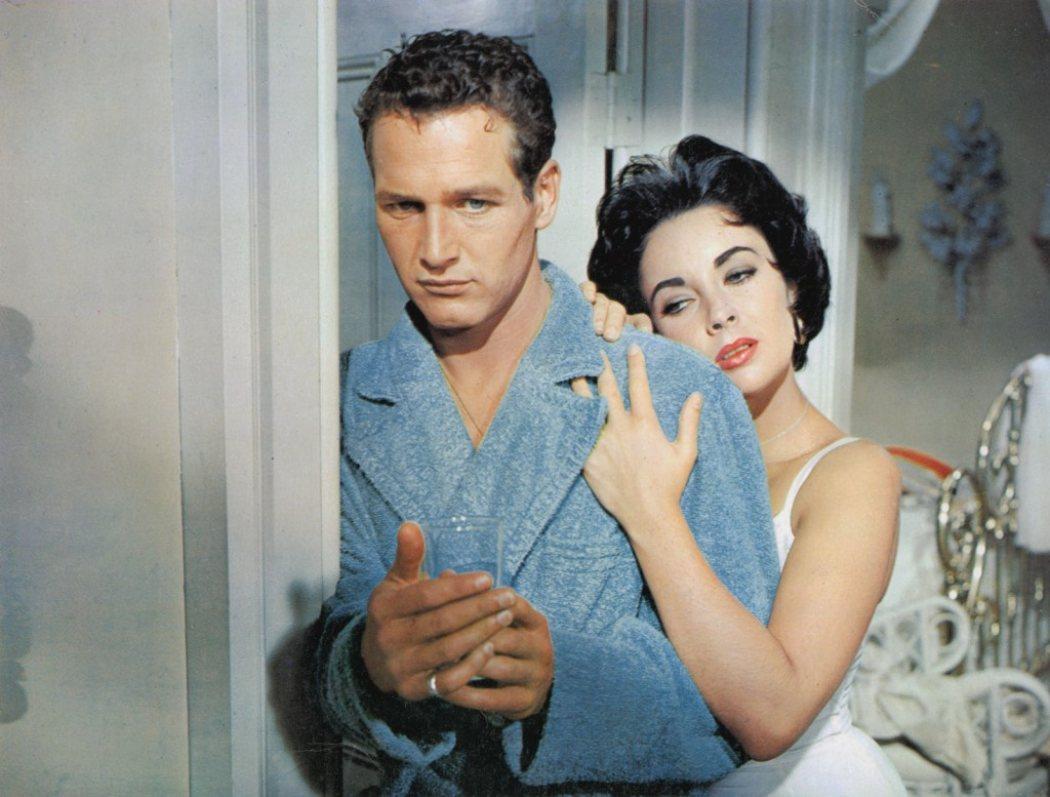 Paul Newman en 'La gata sobre el tejado de zinc'