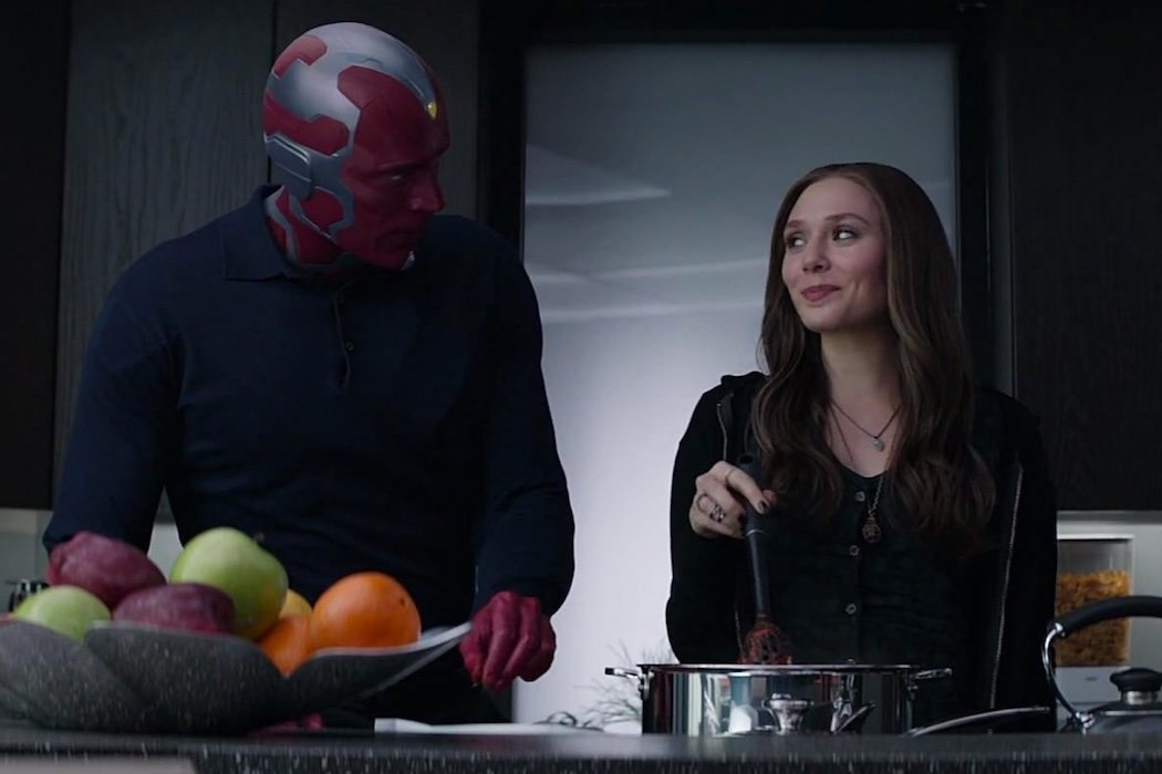 'Vision & The Scarlet Witch'