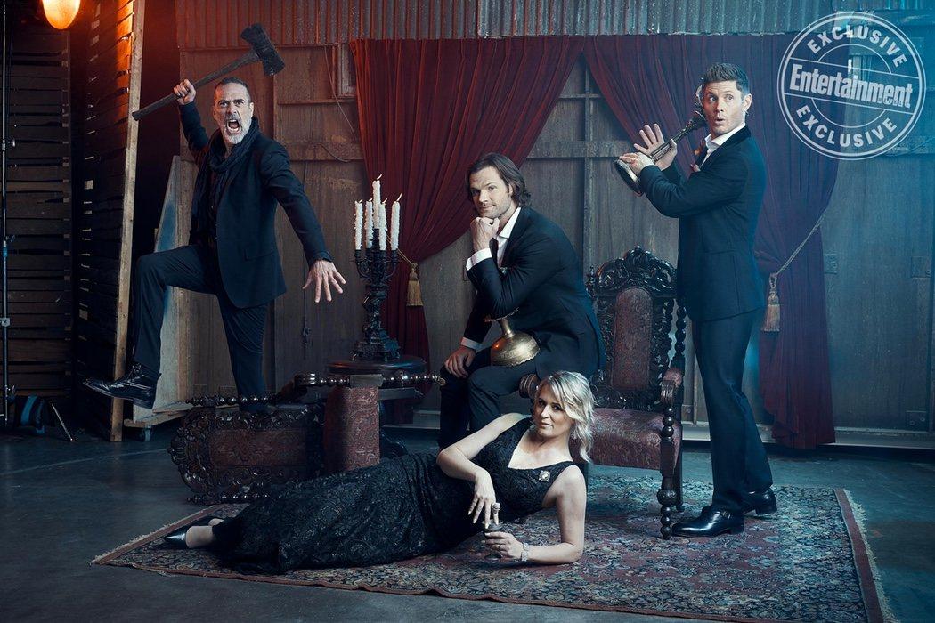 La familia Winchester al completo