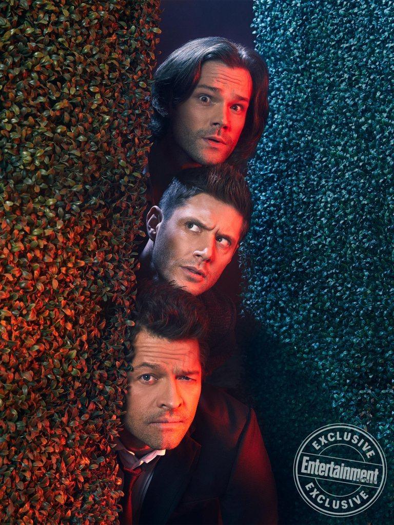 Dean, Sam y Castiel