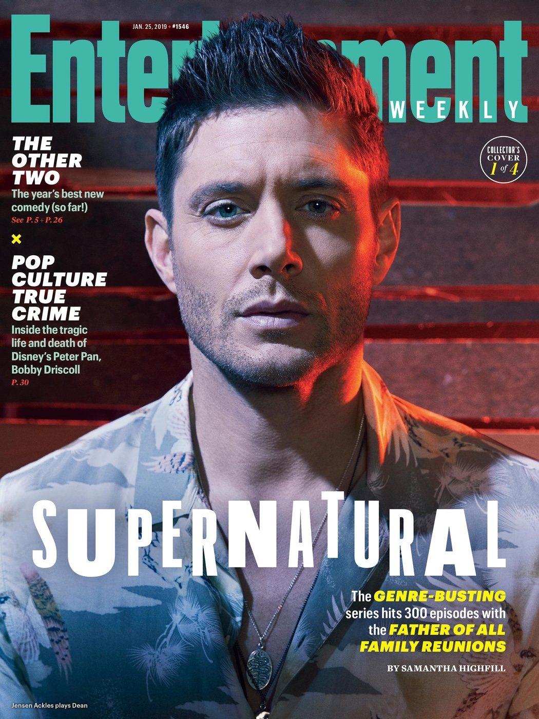 Portada EW con Dean Winchester