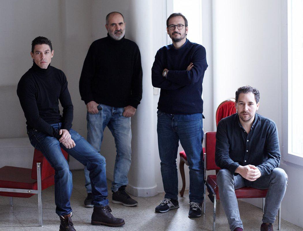 Joaquín Climent, Javier Godino y Adrián Lastra en 'Port Arthur'