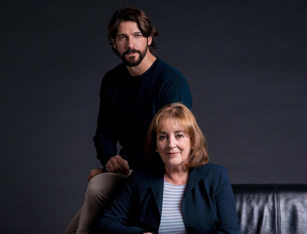Carmen Maura y Félix Gómez en 'La golondrina'