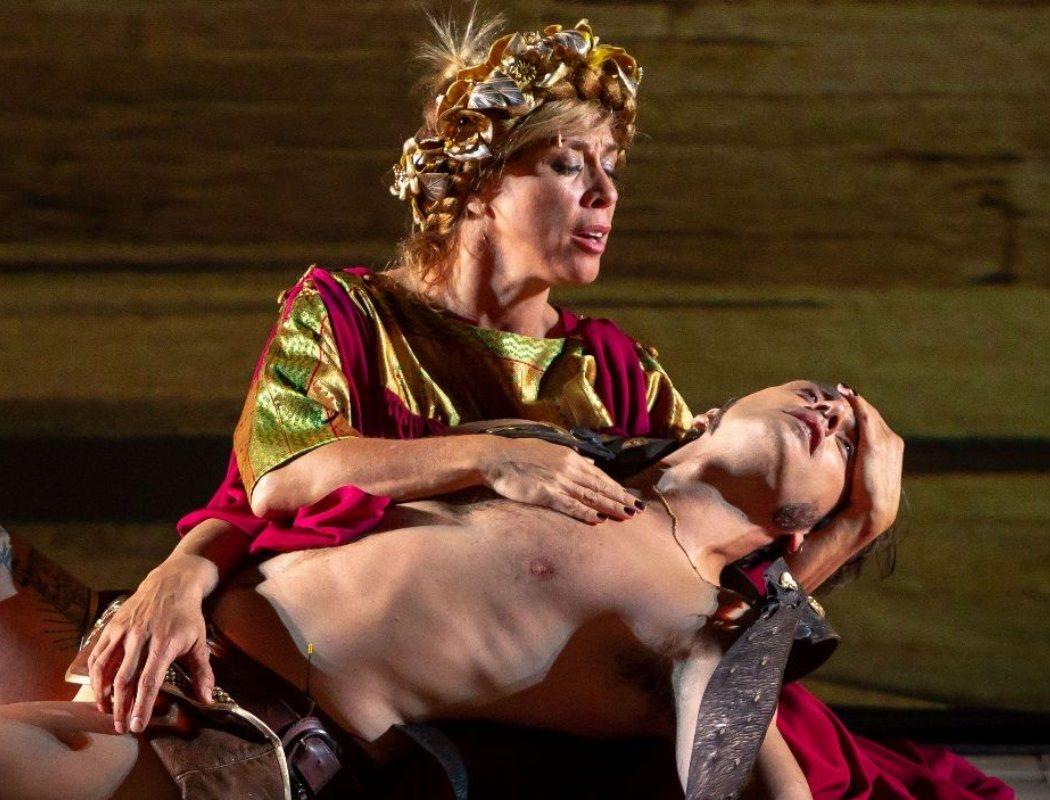 Eva Isanta en 'Ben Hur de Yllana'