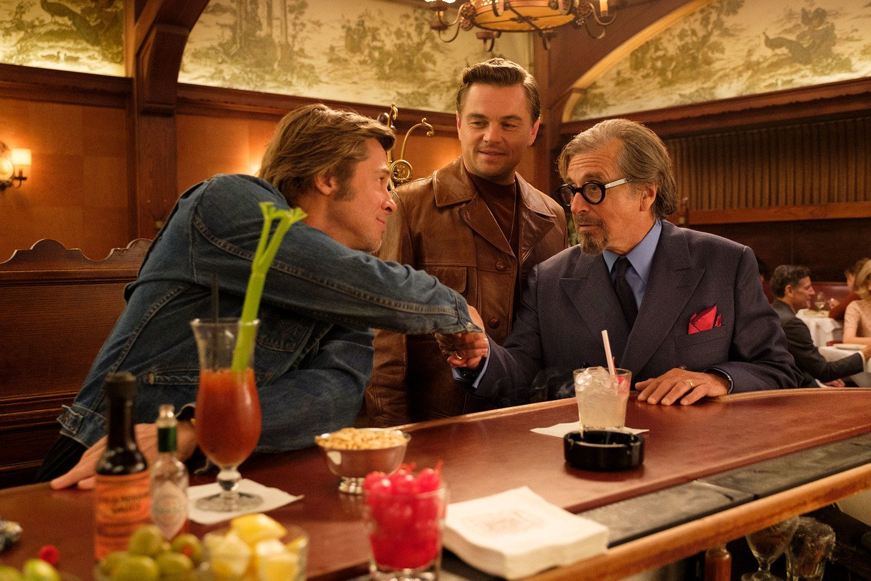 Leonardo DiCaprio, Al Pacino y Brad Pitt