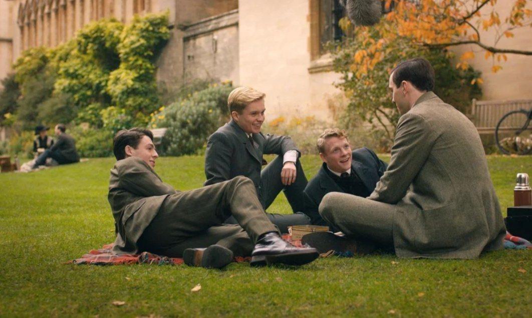 Tolkien y sus compañeros de Pembroke College