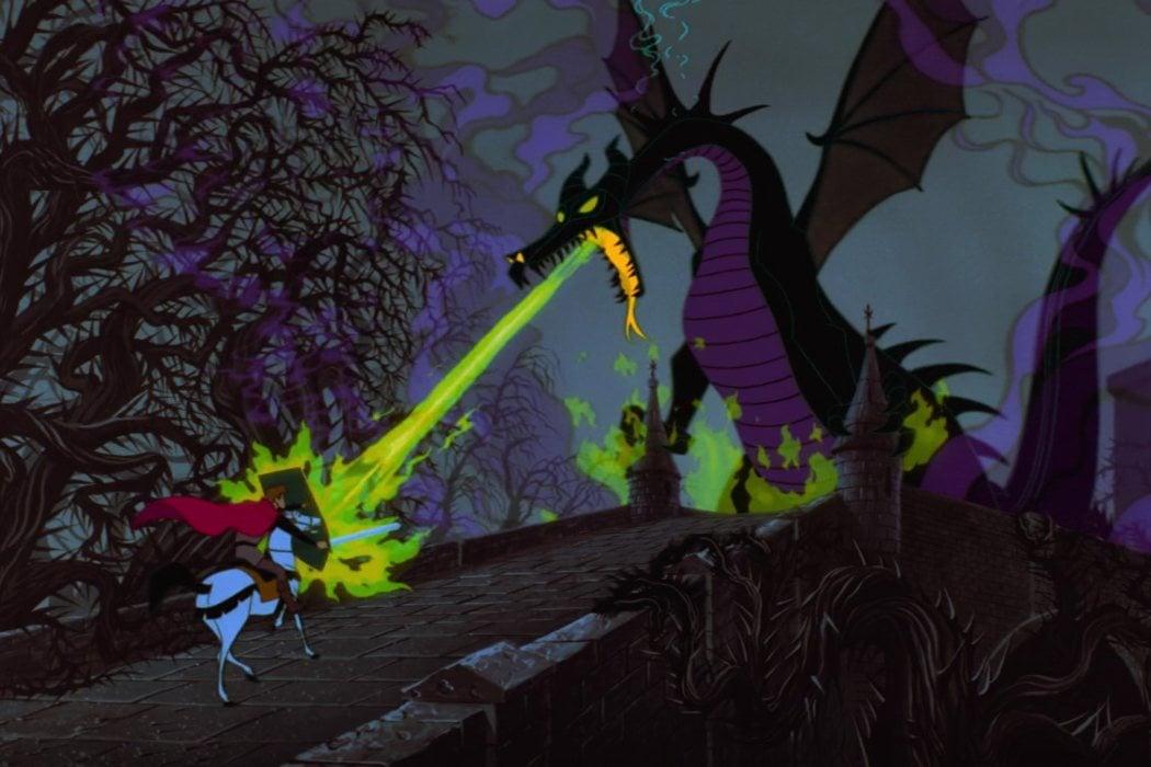 La escena del dragón, una obra maestra