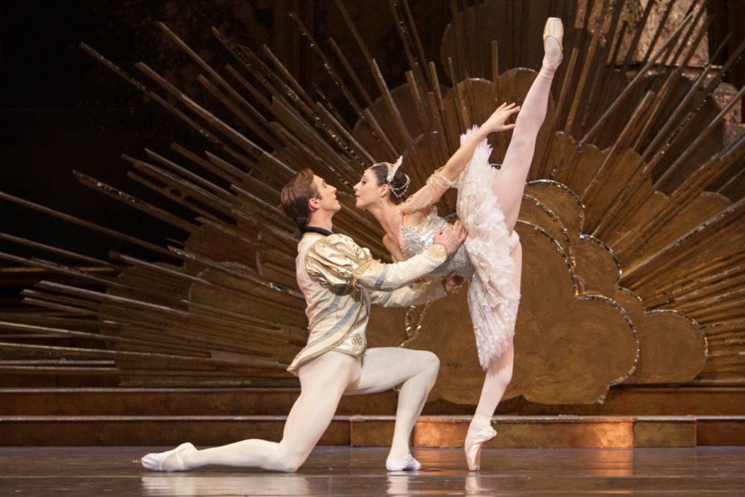 La danza del ballet de Chaikovski