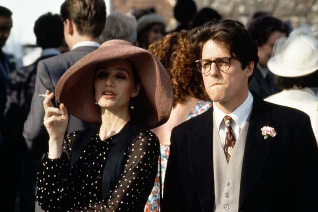 Fiona en 'Cuatro bodas y un funeral'
