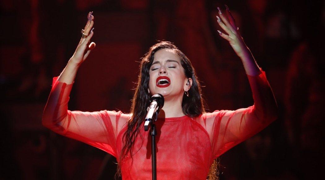La actuación de Rosalía