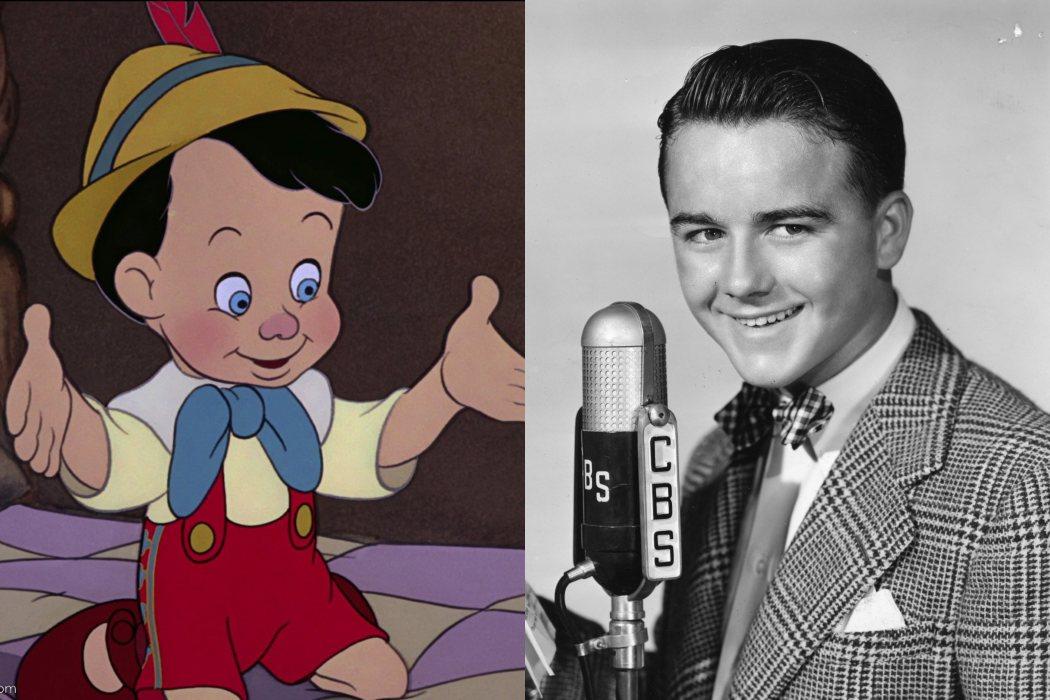 La voz de Pinocho, un niño de verdad