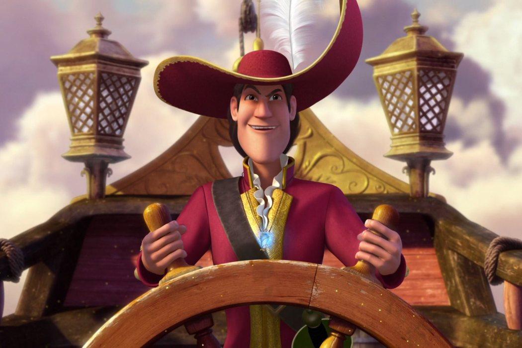 Capitán Garfio en 'Campanilla, hadas y piratas' (2014)