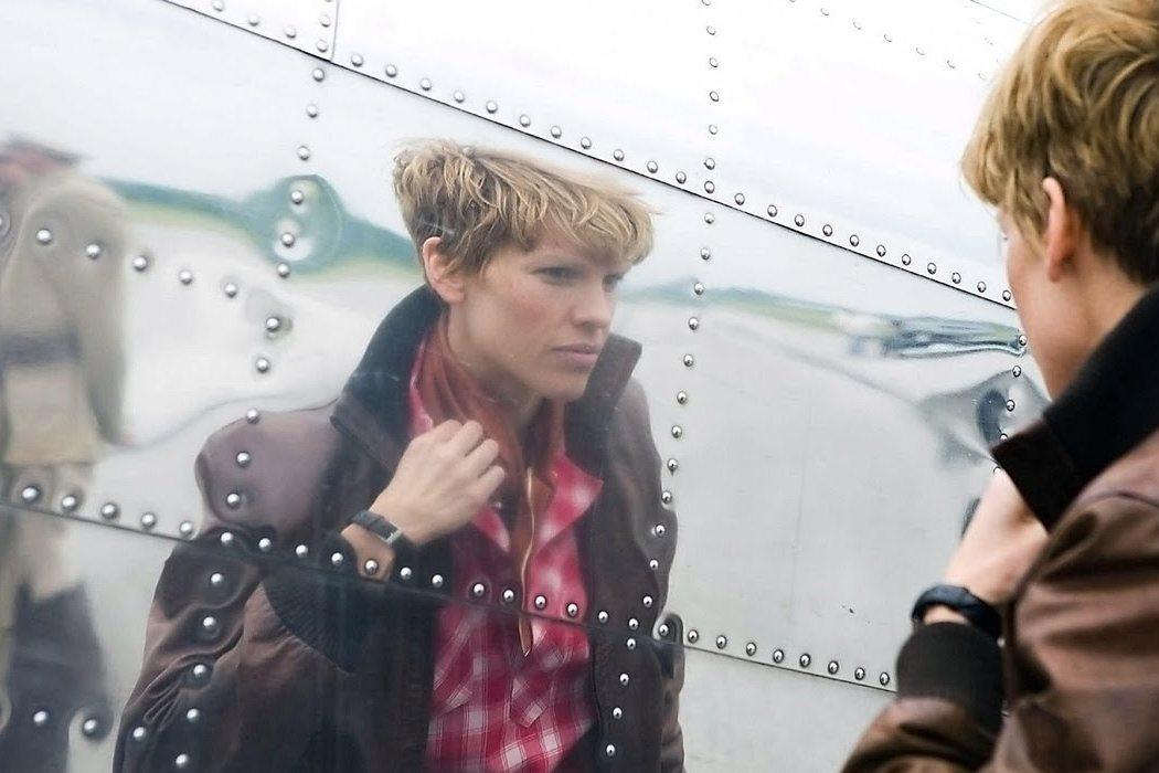 Amelia Earhart en 'Amelia' (2009)