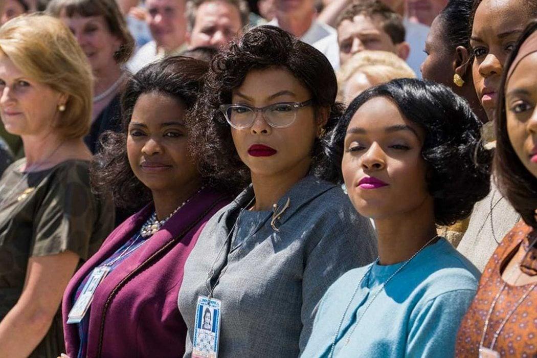 Katherine G. Johnson, Dorothy Vaughan y Mary Jackson en 'Figuras ocultas' (2016)