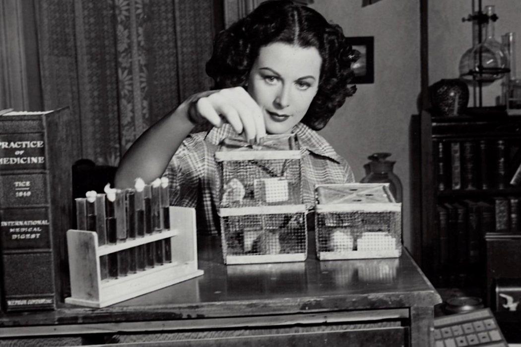 Hedy Lamarr en 'Bomshell: la historia de Hedy Lamarr' (2017)