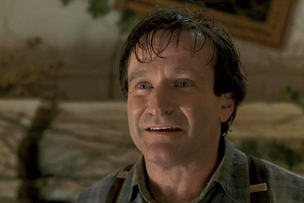 Robin Williams tarda en aparecer