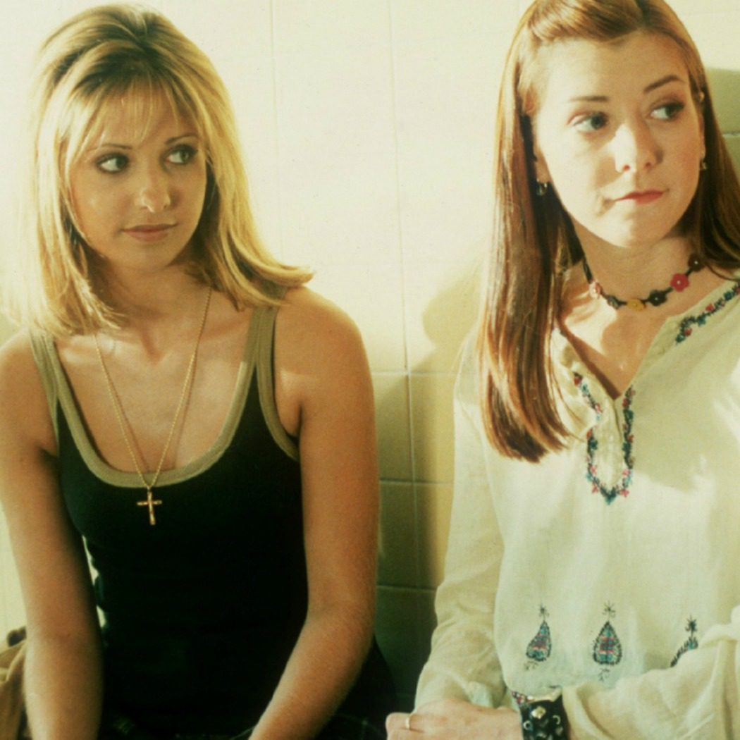 Buffy y Willow