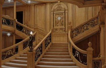 La nueva escalera es una copia casi exacta de la original