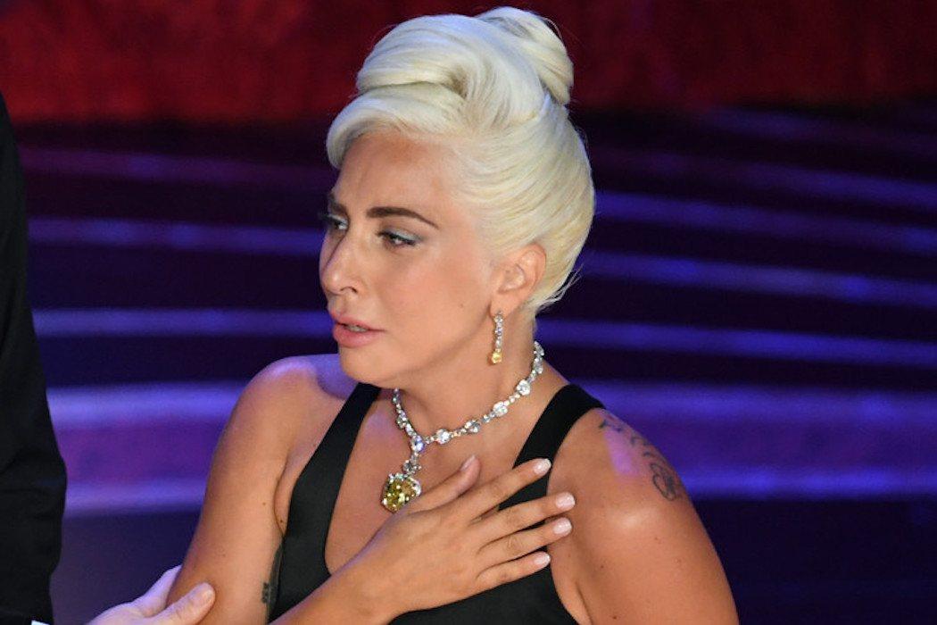 La emoción de Gaga